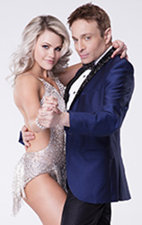 Witney Carson and Chris Kattan