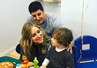 Jenny Mollen, Jason Biggs and their son Sid