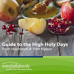 Guide to the High Holidays for Interfaith Families