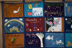 Rosh Hodesh quilt