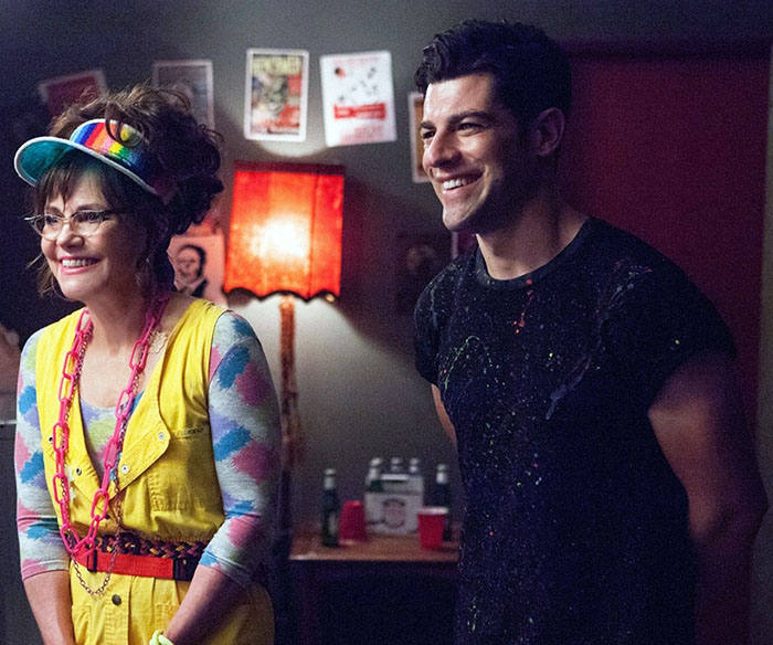 Sally Field and Max Greenfield