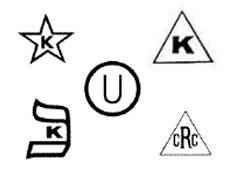 kosher certification symbols