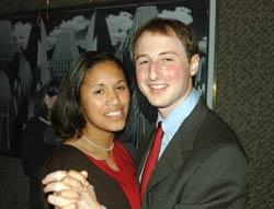 Erin Russ and Matt Scherzer
