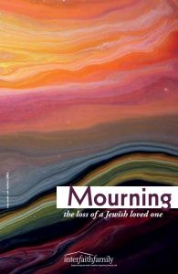 Mourning Booklet Cover