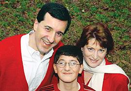 William, Beth and Levi Squier