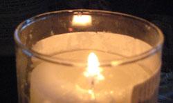 Shivah Candle