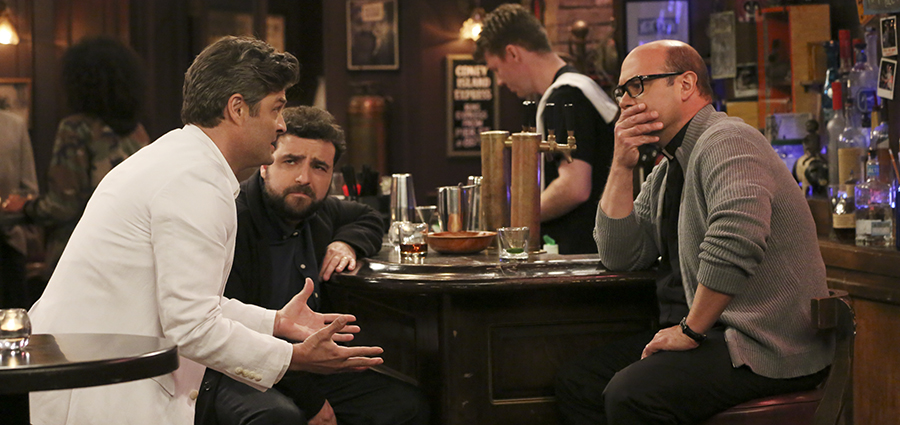 Living Biblically: Jay Ferguson, David Krumholtz, Ian Gomez