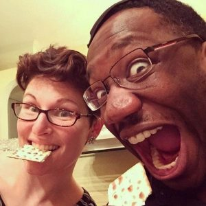 Becky & Femi celebrate Passover