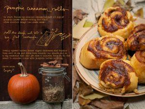 Challah pumpkin rolls