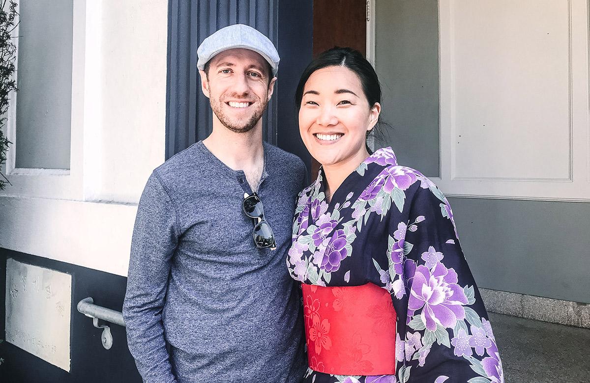 Kristin and her husband