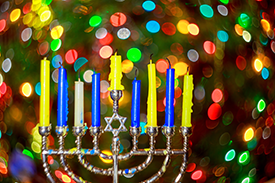 menorah lights