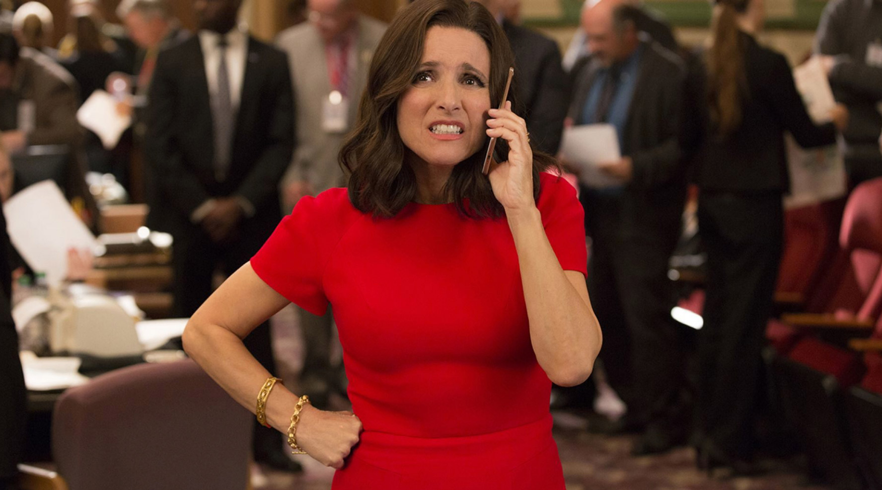 Julia Louis Dreyfus in Veep