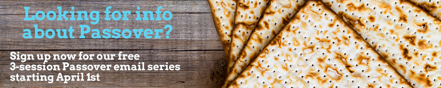 IFF's Passover email series