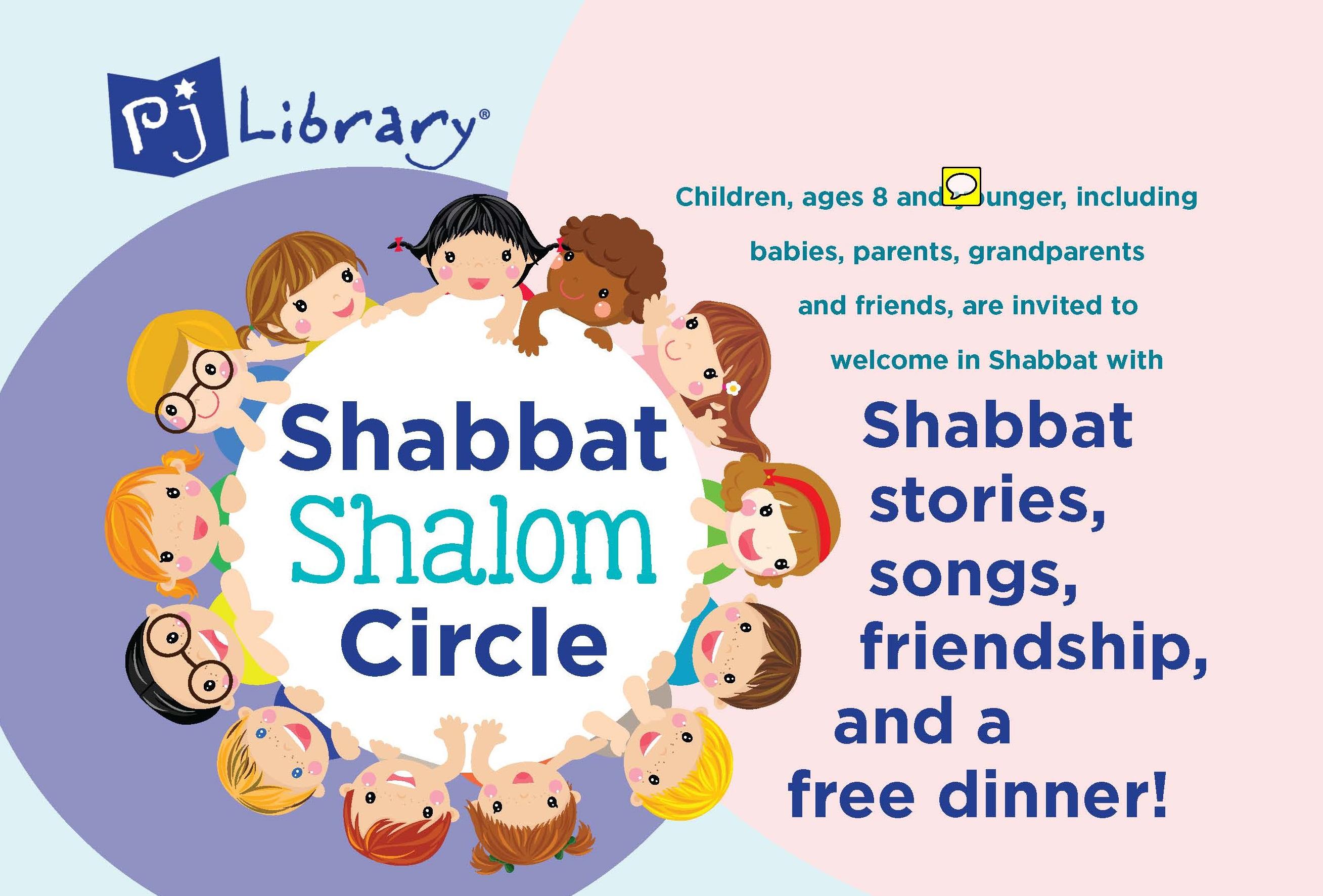PJ Library Shabbat Shalom Circle