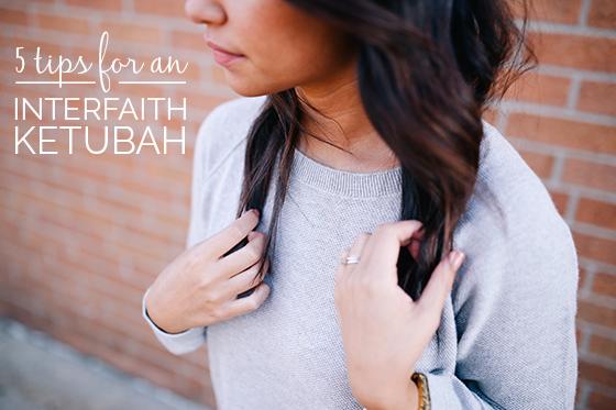 interfaith ketubah tips
