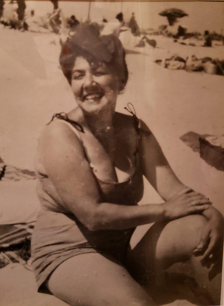 Grandma Rosie, Riis Park 1952